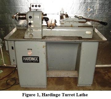 Hardinge Turret Lathe
