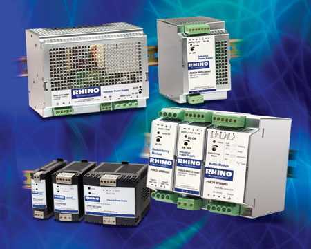 Rhino Series Offers Variable DC Switching Power Supplies