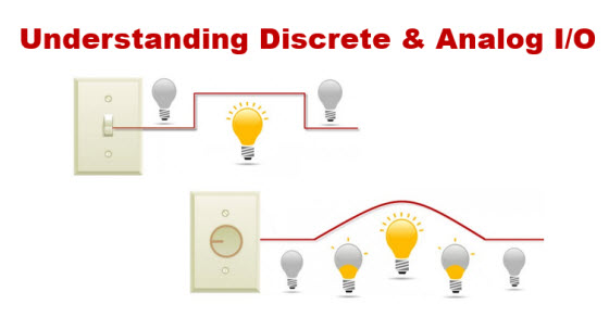 discrete vs analog i o for plcs what s the difference