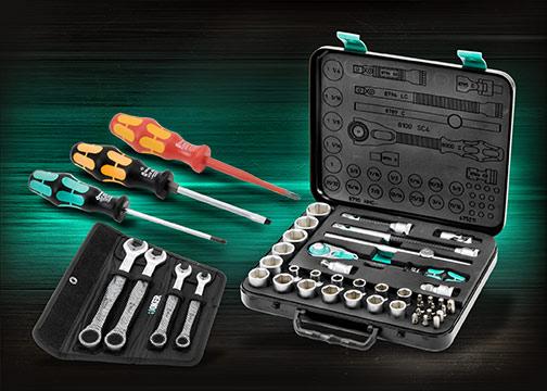 Wera tool kit, designed for optimum ergonomics