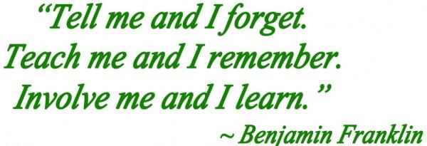 Benjamin Franklin education quote