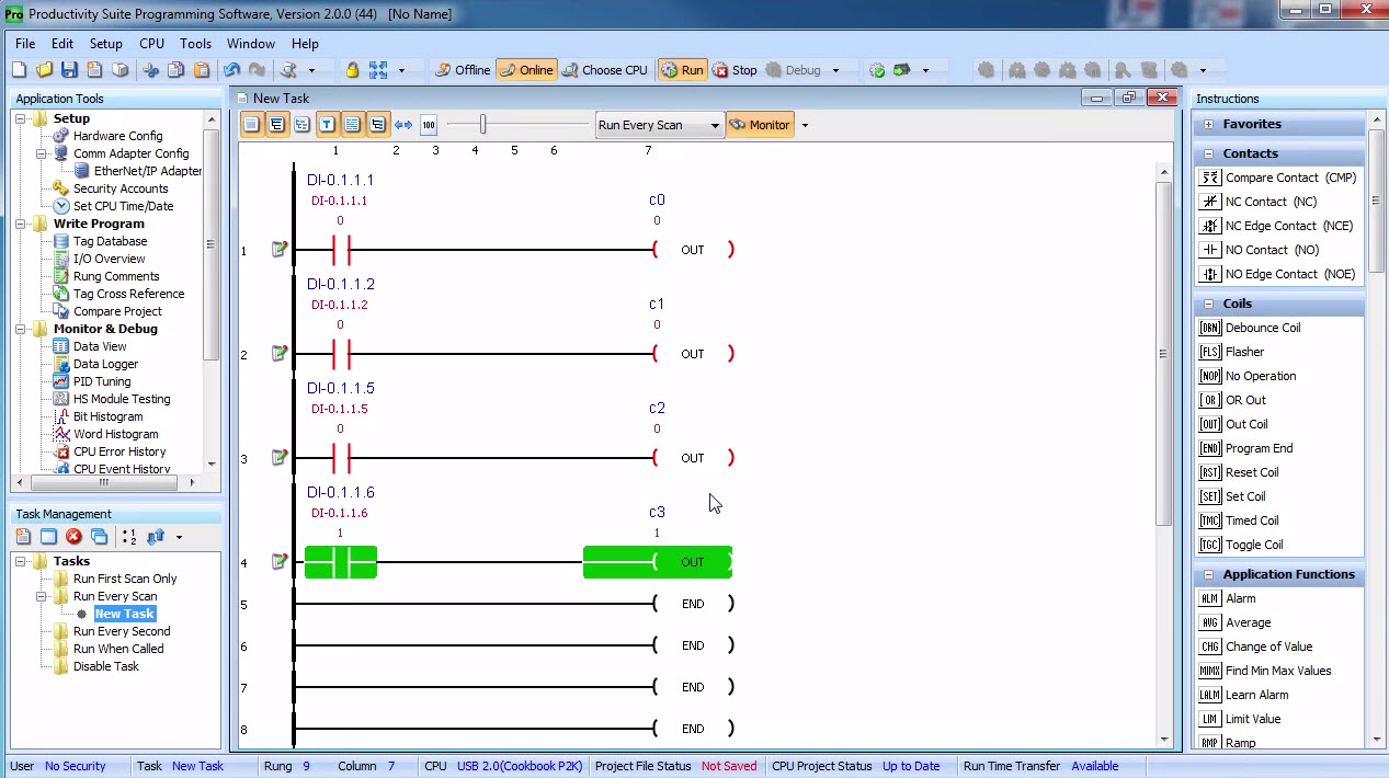 Ladder Logic In Action New Troubleshooting Plc Controls Circuits With Simulator Four