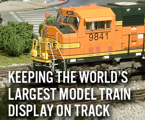 Keeping the World's Largest Model Train Display On Track