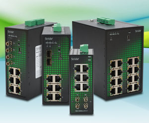 AutomationDirect Offers Additional Stride Managed Ethernet Switches