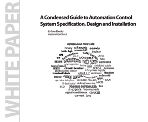 Automation Control System Specification, Design & Installation | White Paper