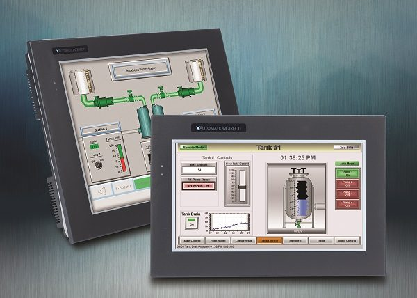 AutomationDirect Adds More Touch Panels to the C-more HMI Line