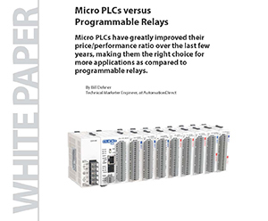 Simple PLC & HMI Solutions for Small Applications