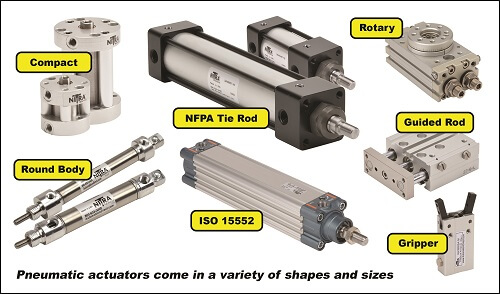 parts for pneumatic systems