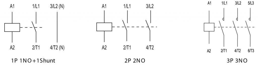 Single Pole Ac Contactor Wiring Diagram from library.automationdirect.com