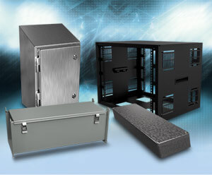 Hammond Data Communications Racks, Sanitary Enclosures, Miniature Cases, Wire Trough and Wireway from AutomationDirect