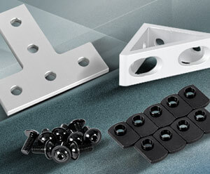 FATH T-Slot Hardware Components from AutomationDirect