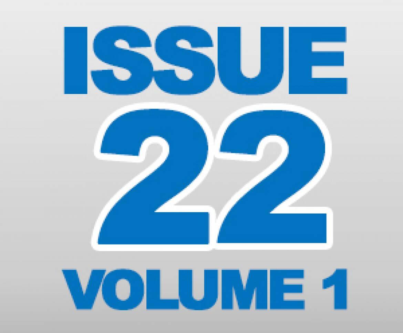 Newsletter Volume 22, Issue 1