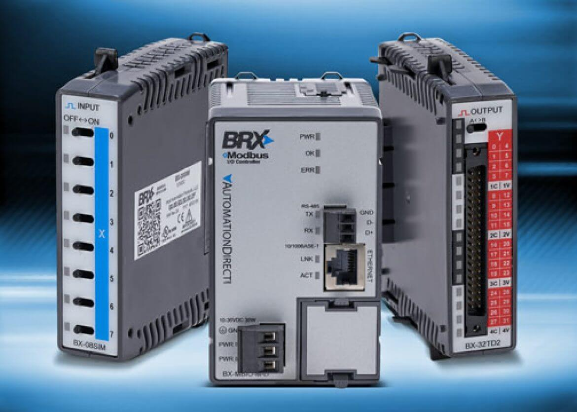AutomationDirect adds Remote I/O to BRX Micro PLCs