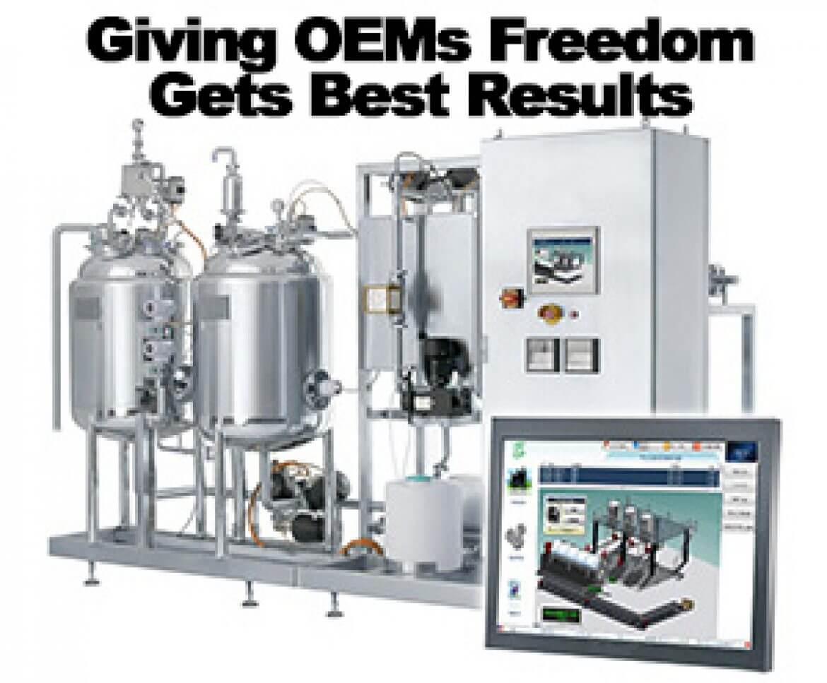 Giving OEMs Freedom Gets Best Results