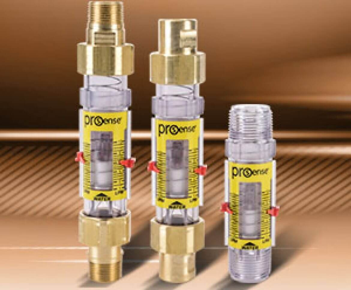 ProSense Variable Area Mechanical Flow Meters from AutomationDirect